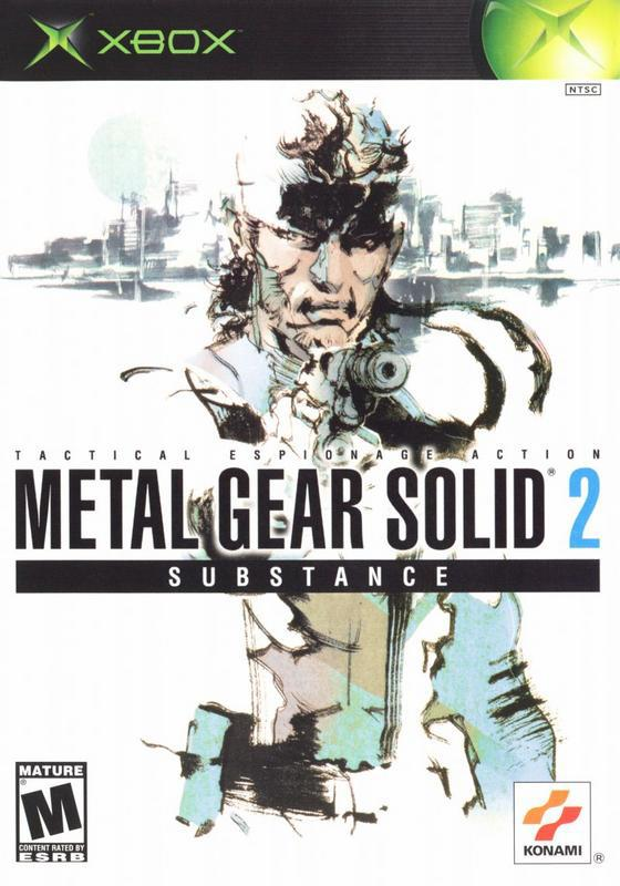 Metal Gear Solid 2 Substance - Xbox