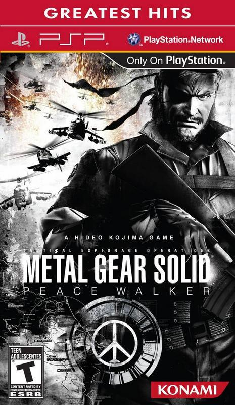 Metal Gear Solid Peace Walker - PlayStation Portable