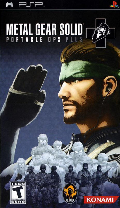 Metal Gear Solid Portable Ops Plus - PlayStation Portable