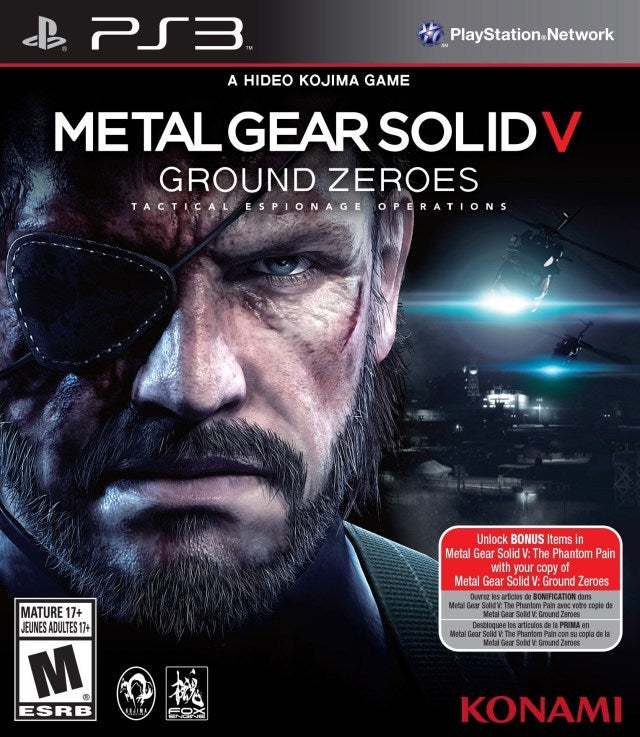 Metal Gear Solid V Ground Zeroes - PlayStation 3