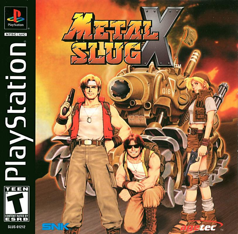 Metal Slug X - PlayStation 1