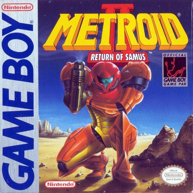Metroid II Return of Samus - Game Boy