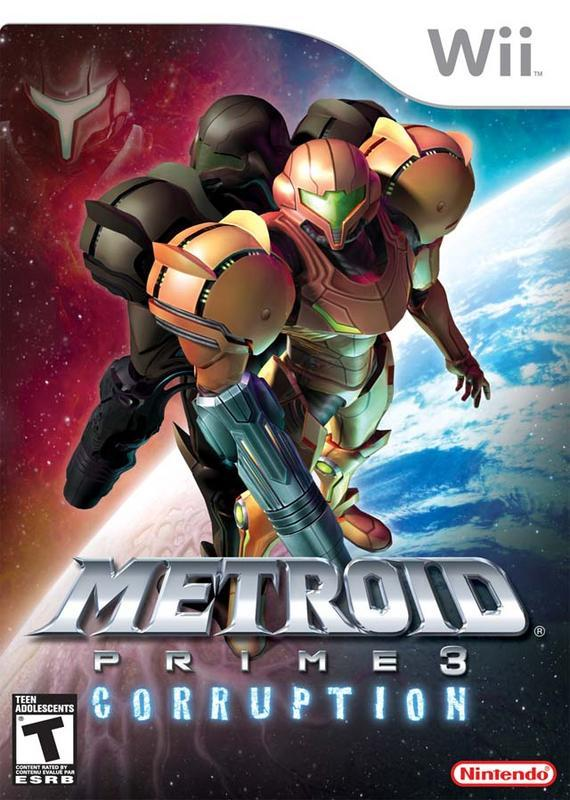 Metroid Prime 3 Corruption - Wii