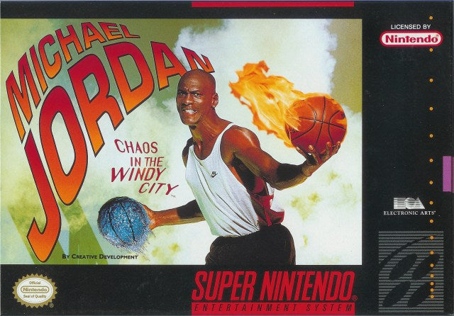 Michael Jordan Chaos in the Windy City - Super Nintendo Entertainment System