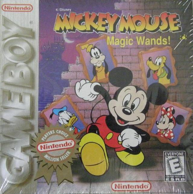 Mickey Mouse Magic Wands! - Game Boy