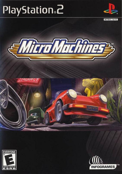 Micro Machines - PlayStation 2