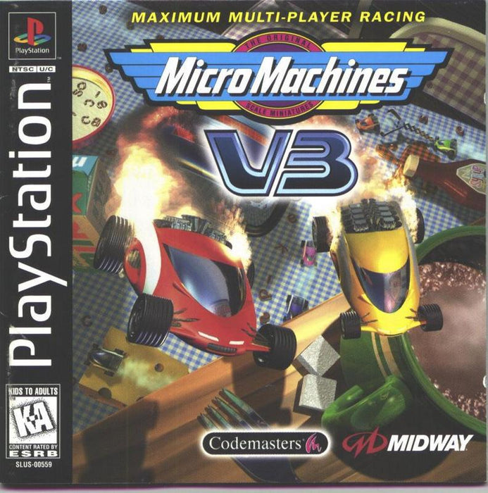 Micro Machines V3 - PlayStation 1