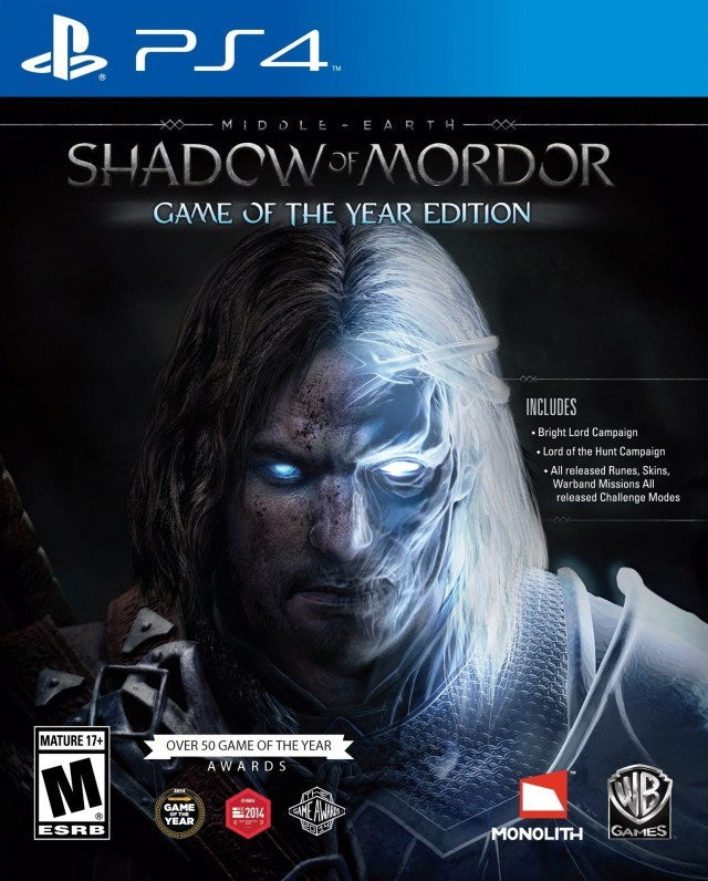 Middle-earth Shadow of Mordor - Game of the Year Edition - PlayStation 4