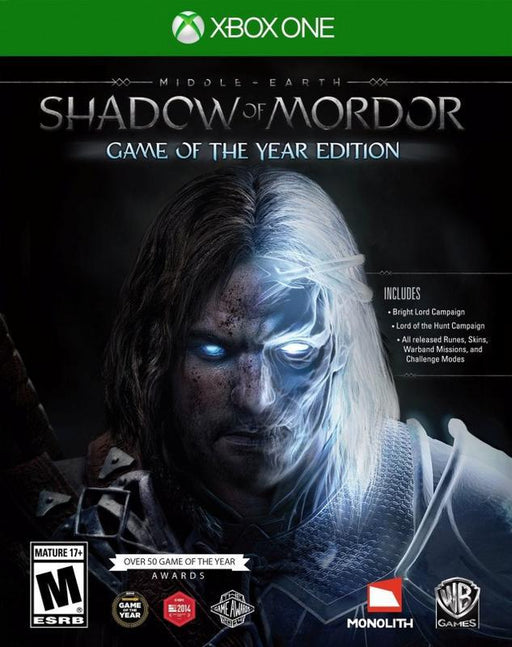 Middle-earth Shadow of Mordor - Game of the Year Edition - Xbox One