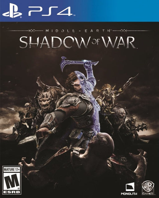 Middle-earth Shadow of War - PlayStation 4