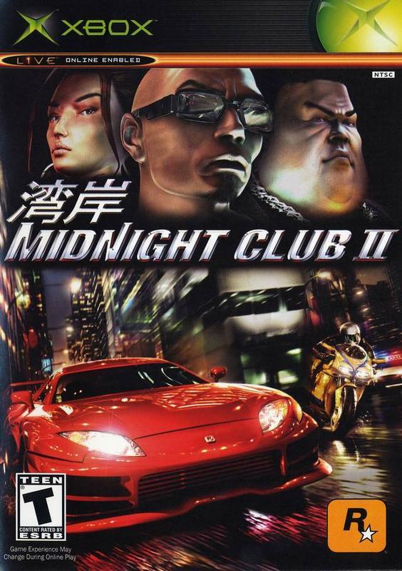 Midnight Club II - Xbox