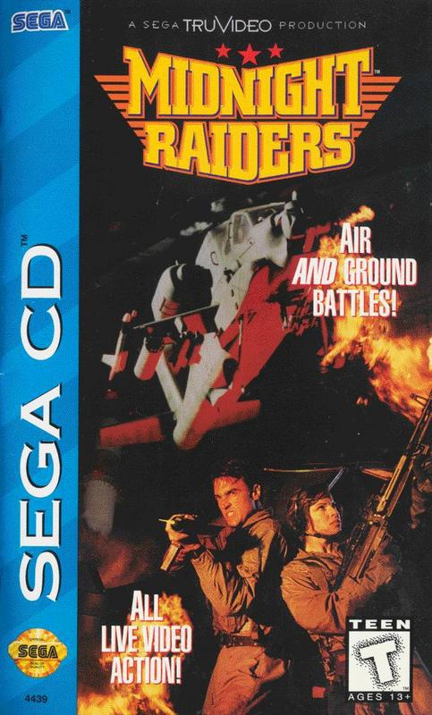 Midnight Raiders - Sega CD