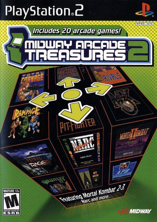 Midway Arcade Treasures 2 - PlayStation 2