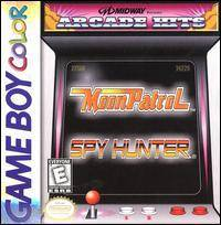 Midway presents Arcade Hits Moon Patrol  Spy Hunter - Game Boy Color