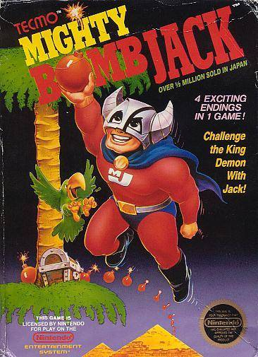 Mighty Bomb Jack - Nintendo Entertainment System