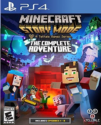 Minecraft Story Mode - A Telltale Games Series - The Complete Adventure - PlayStation 4