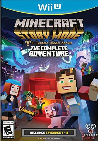 Minecraft Story Mode - A Telltale Games Series - The Complete Adventure - Wii U