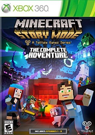 Minecraft Story Mode - A Telltale Games Series - The Complete Adventure - Xbox 360