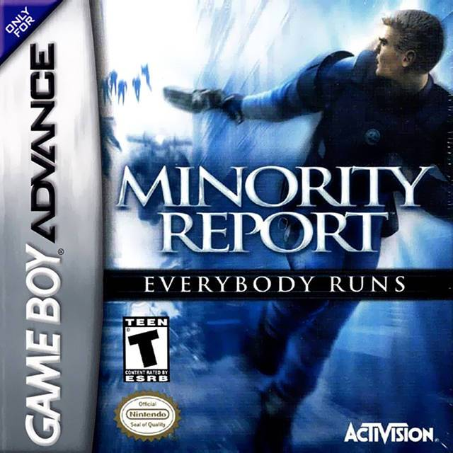 Minority Report Everybody Runs - Game Boy Advance