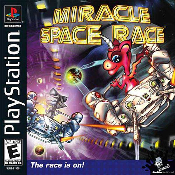 Miracle Space Race - PlayStation 1