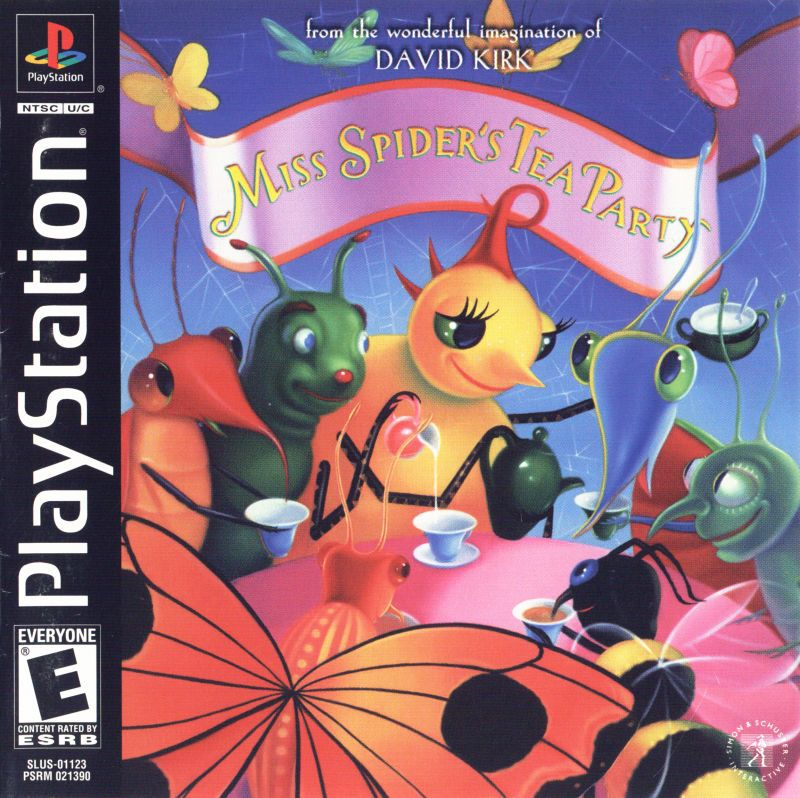 Miss Spiders Tea Party - PlayStation 1