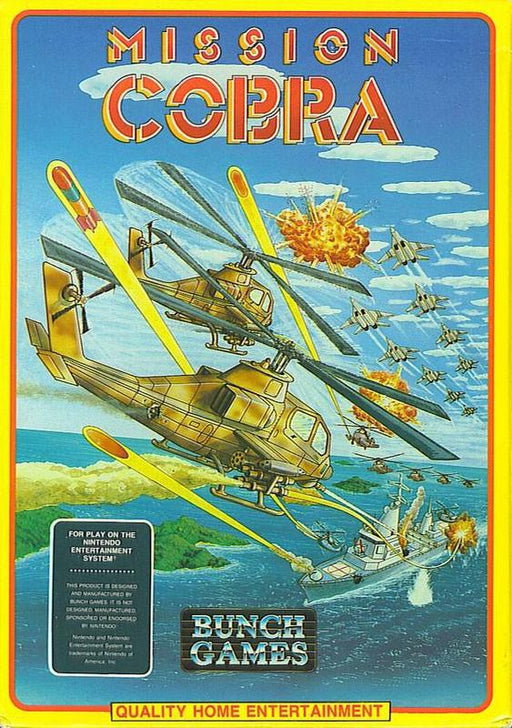 Mission Cobra - Nintendo Entertainment System