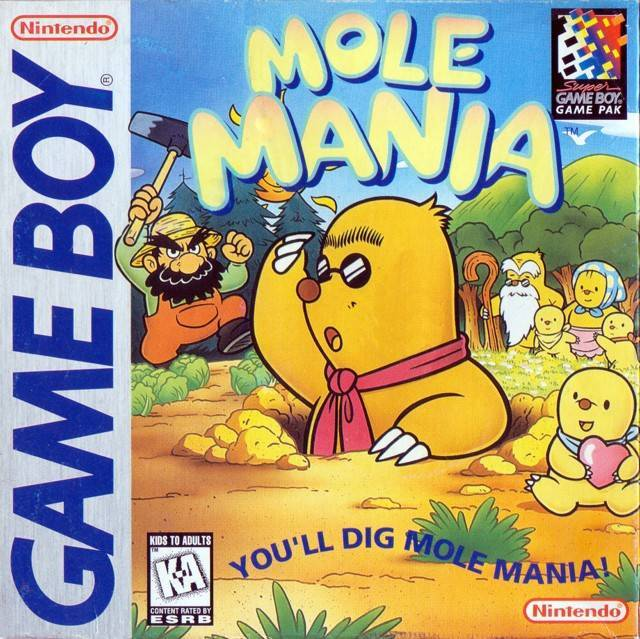 Mole Mania - Game Boy