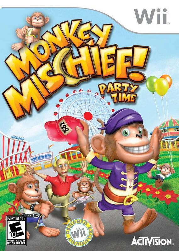 Monkey Mischief! Party Time - Wii
