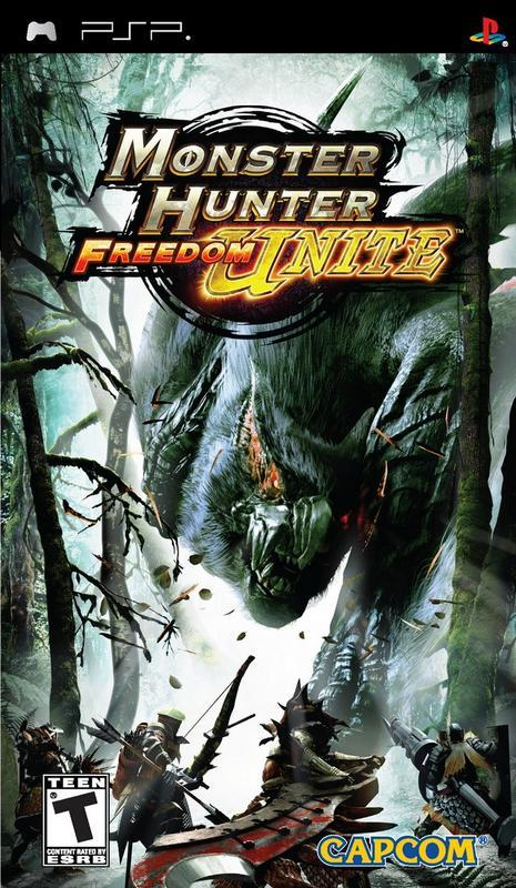 Monster Hunter Freedom Unite - PlayStation Portable
