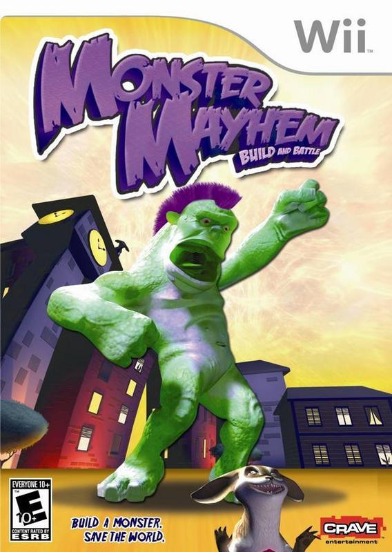 Monster Mayhem Build and Battle - Wii