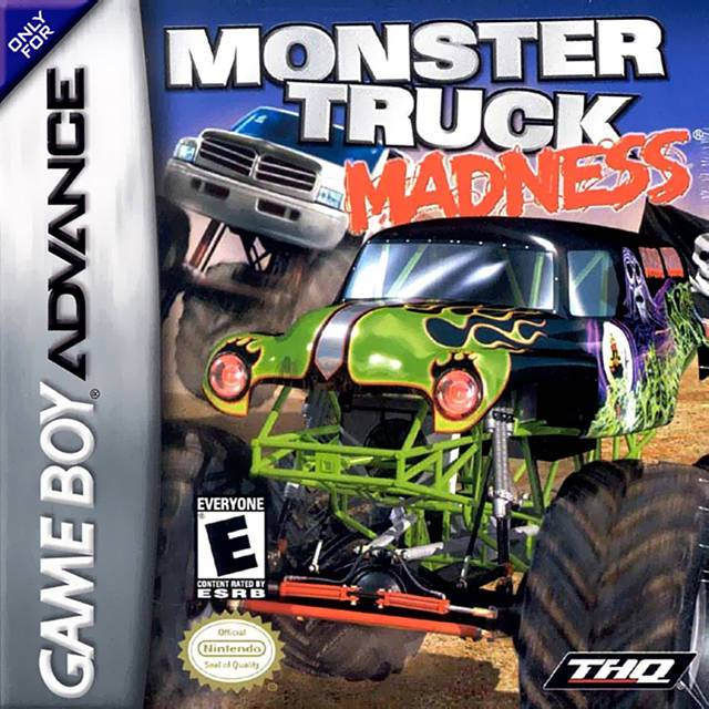 Monster Truck Madness - Game Boy Advance