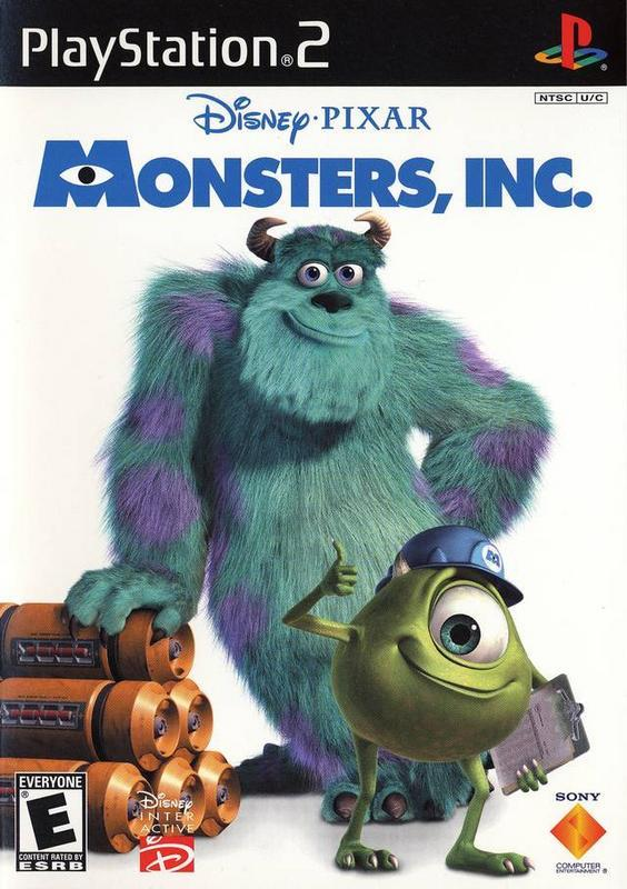 Monsters Inc. - PlayStation 2