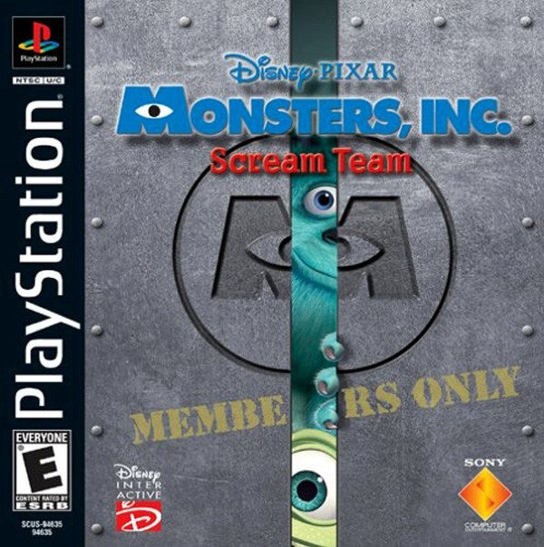 Monsters Inc. Scream Team - PlayStation 1