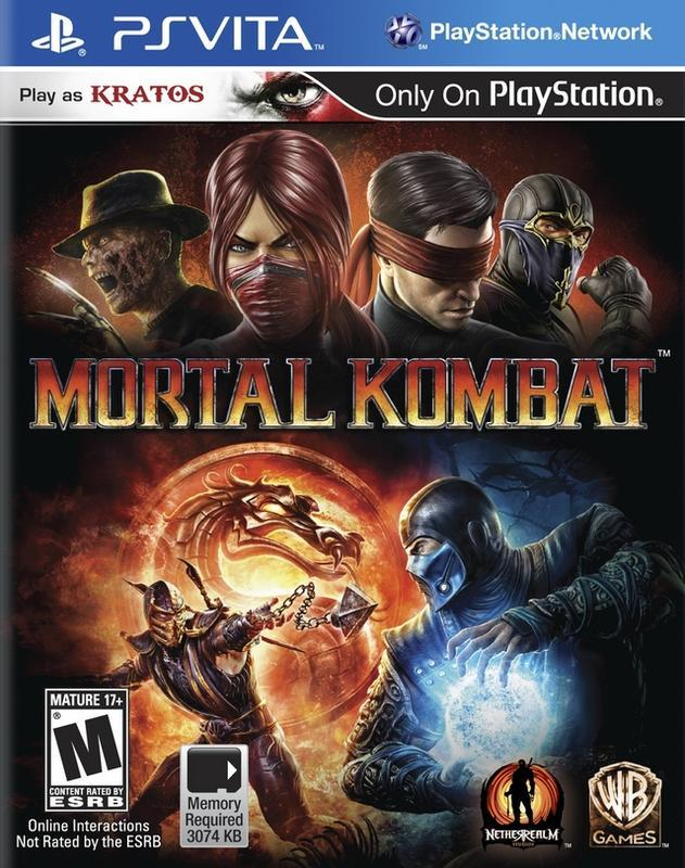 Mortal Kombat - PlayStation Vita