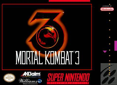 Mortal Kombat 3 - Super Nintendo Entertainment System