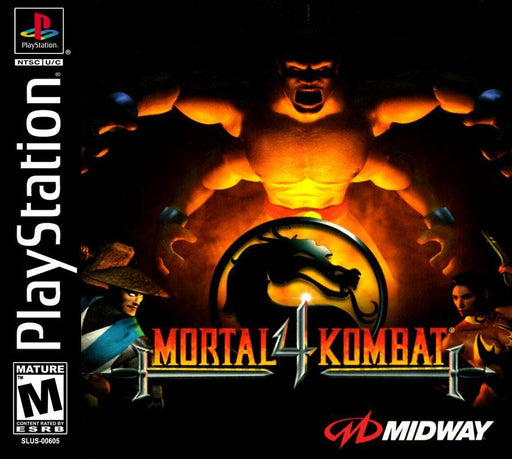 Mortal Kombat 4 - PlayStation 1