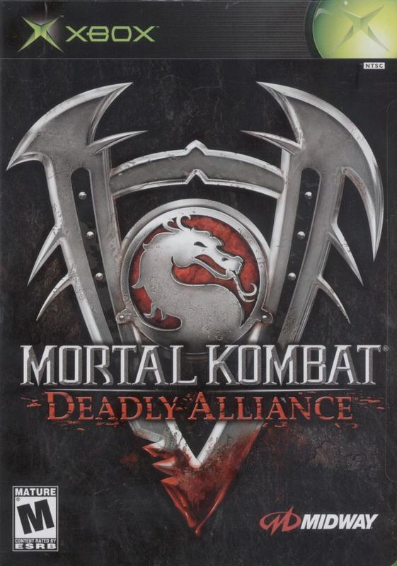 Mortal Kombat Deadly Alliance - Xbox