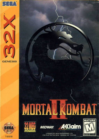 Mortal Kombat II for Sega 32x