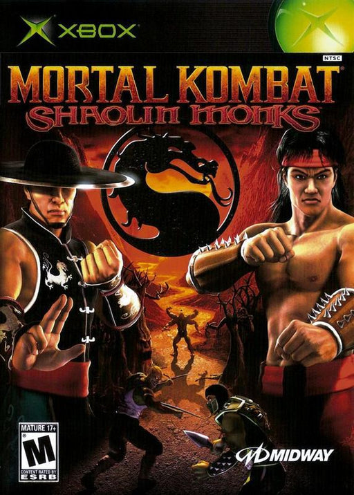Mortal Kombat Shaolin Monks - Xbox