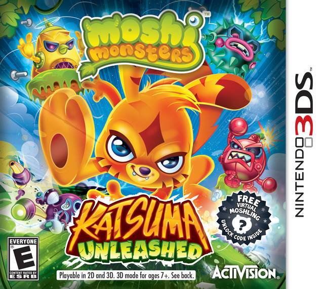 Moshi Monsters Katsuma Unleashed - Nintendo 3DS