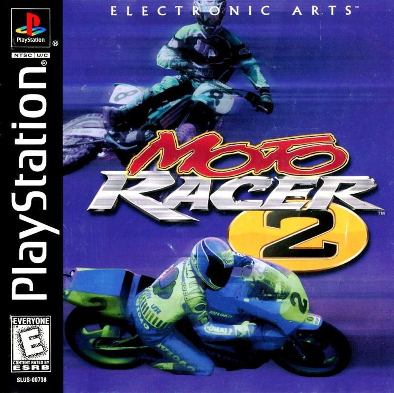 Moto Racer 2 - PlayStation 1