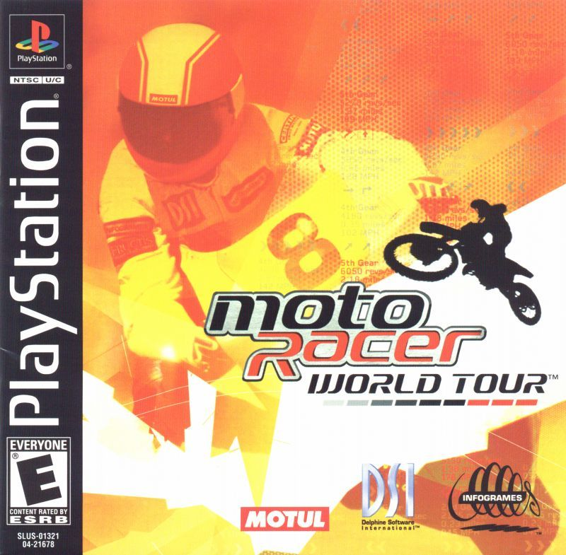Moto Racer World Tour - PlayStation 1