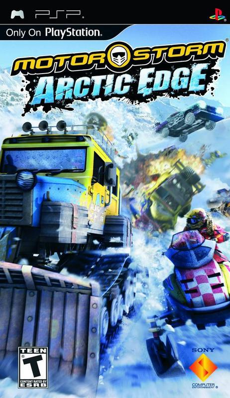 MotorStorm Arctic Edge - PlayStation Portable