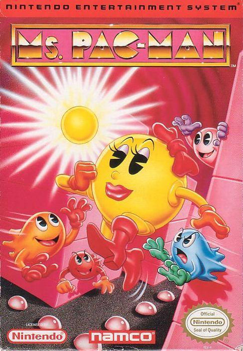 Ms. Pac-Man - Nintendo Entertainment System