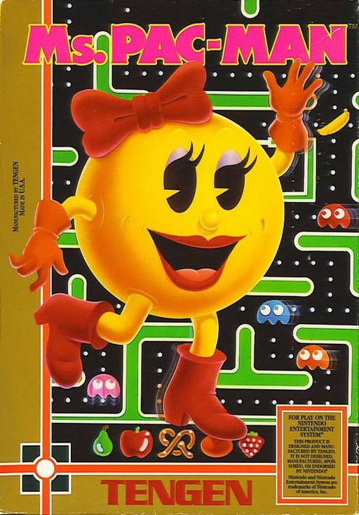Ms. Pac-Man (Tengen) - Nintendo Entertainment System