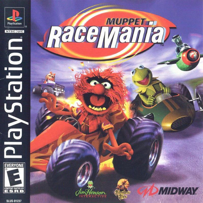 Muppet Race Mania - PlayStation 1
