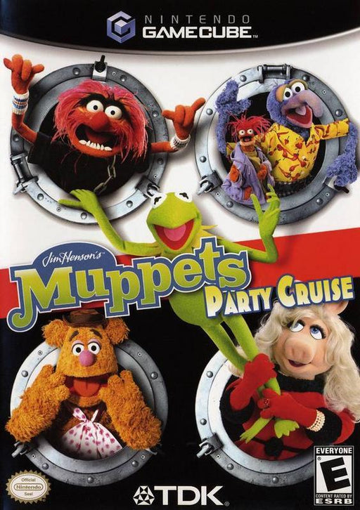 Muppets Party Cruise - Gamecube
