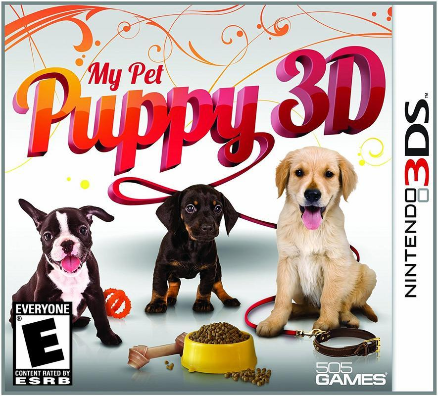 My Pet Puppy 3D - Nintendo 3DS