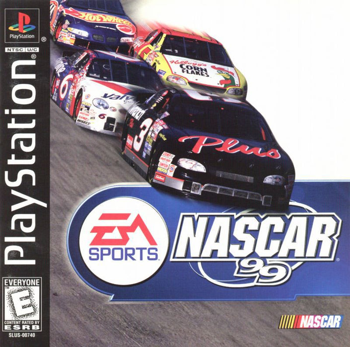 NASCAR 99 - PlayStation 1