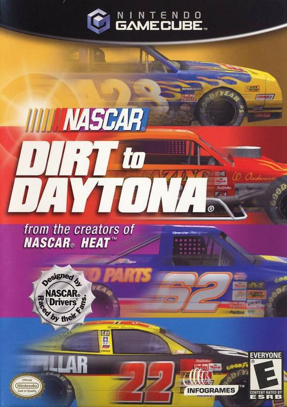 NASCAR Dirt to Daytona - Gamecube